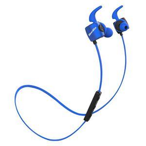 CASQUE - ÉCOUTEURS Bluedio TE (Turbine) Écouteur de Sport Course Blue