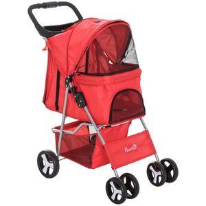 POUSSETTE POUR ANIMAUX Poussette buggy pour chiens pliable imperméable ti