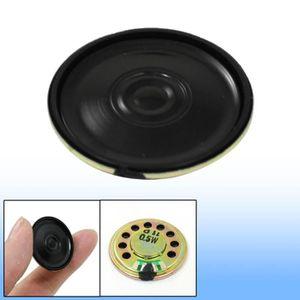 Sourcingmap/® 4pcs 1W 8 Ohm Aimant Rond Type MP3 MP4 Player Speaker Loundspeaker