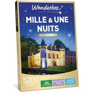 COFFRET SÉJOUR Wonderbox - Coffret cadeau en couple ou en famille