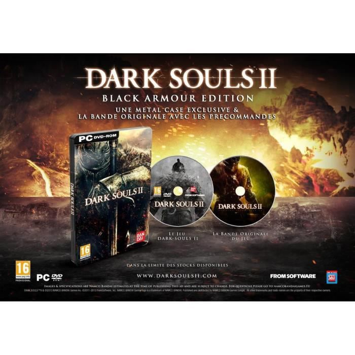 JEU PC Dark Souls 2 Black Armour Edition Jeu PC