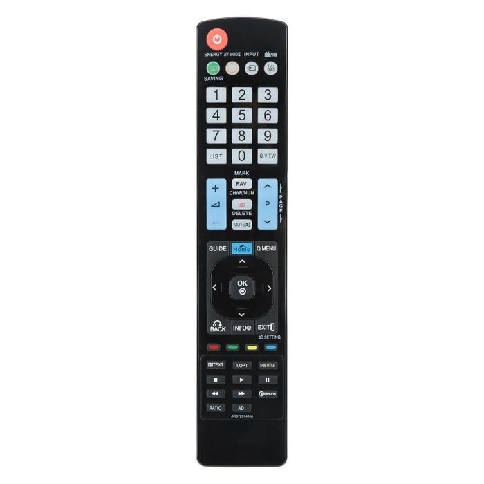 LANQI Télécommande Remplacement Pour LG AKB72914048 TV Distance de 10 mètres