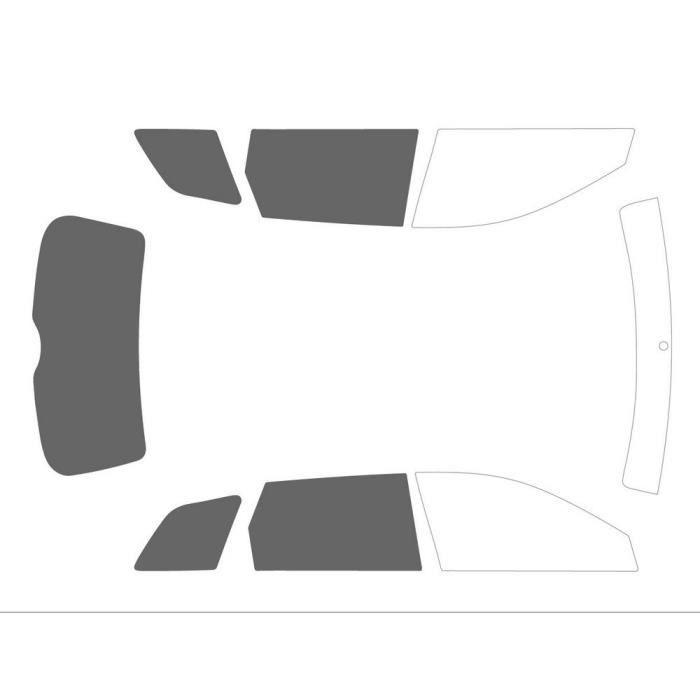 Variance Auto va_k-3-49-694-3425-2-32 Film Teinté pour Auto Kit 3-4, Noir 20