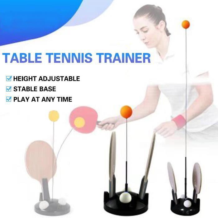 Élasticité molle de machine de formation d'axe de formateur de tennis de table pour le dispositif adulte d'enfant @coercoo287