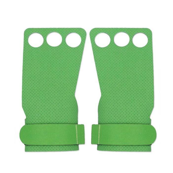 Gants d'haltérophilie et de Crossfit pour exercices de musculation, avec poignées, pour tractions, haltères, [C674174]
