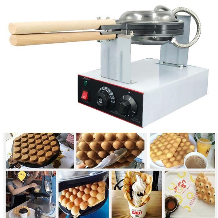 Machine à Gâteau aux Oeufs 1400W Electrique Appareil à Professionnel Egg Cake Maker Professional pour Cuisine Restaurant Soirée et F