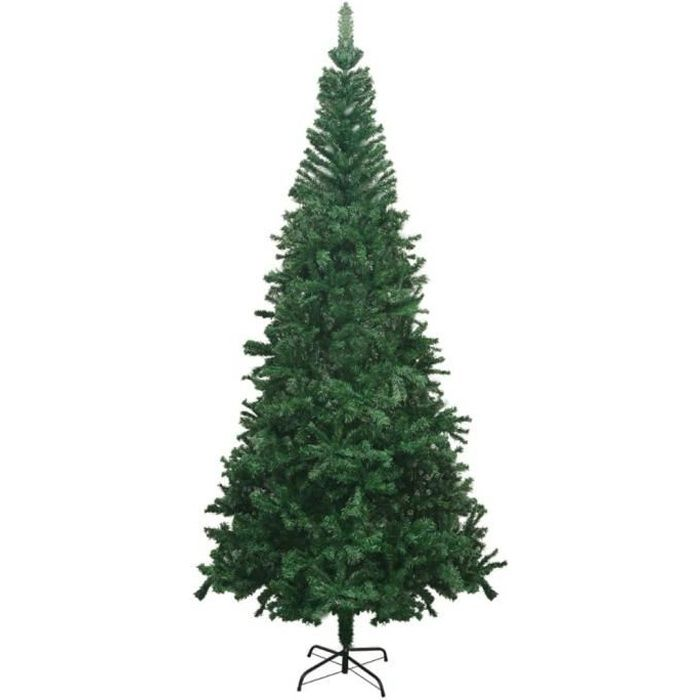 Sapin de Noël artificiel L 240 cm Vert HB056