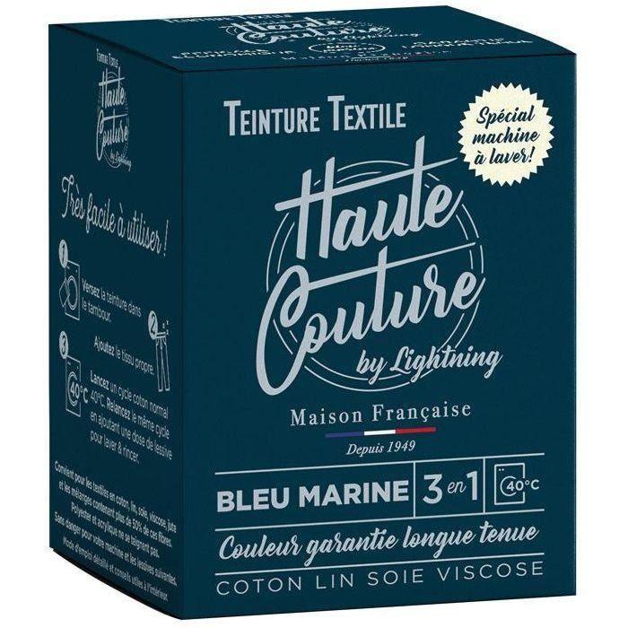 Teinture textile haute couture bleu marine 350g