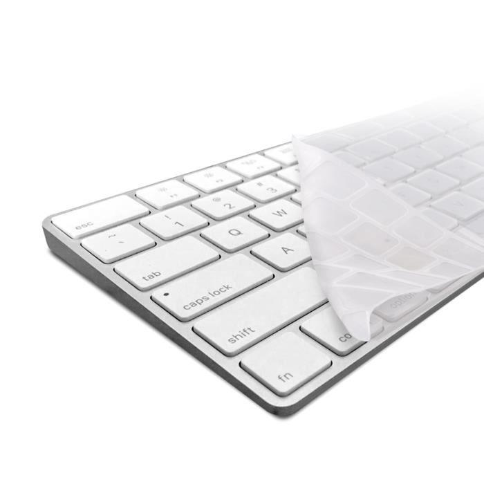 kwmobile protection de clavier Qwerty (Us) robuste, fine en silicone pour Apple Magic Keyboard en transparent protection effective