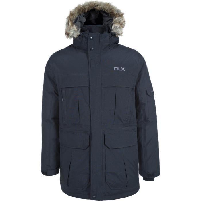 Trespass Mens Highland DLX Waterproof Breathable Natural Down Jacket