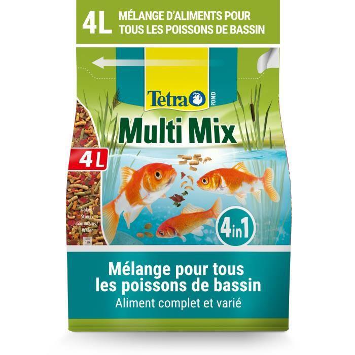 TETRA Pond Multimix 4L - Pour poisson