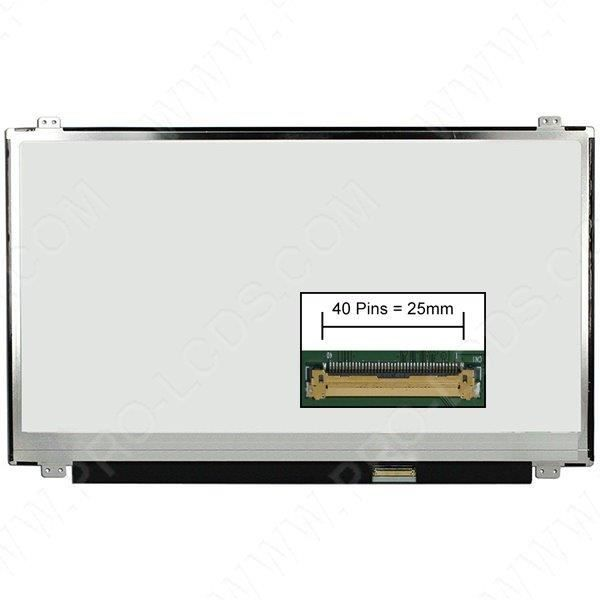 Ecran dalle LCD LED type Toshiba PSKTAE-04400QFR 15.6 1366x768 - Mate