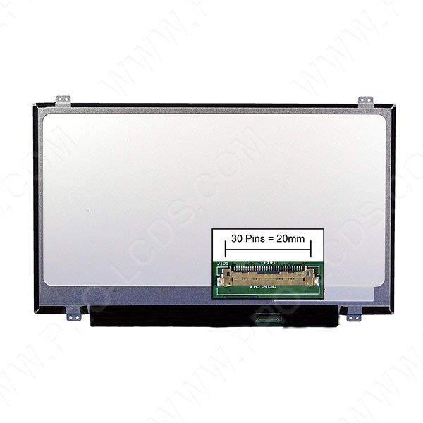 Dalle écran LCD LED type Toshiba PS483E-06D00JAR 14.0 1366x768 - Mate