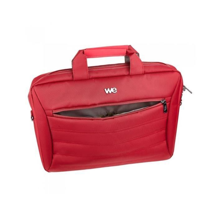 Sacoche WE DESIGN V2 , 14'' rouge Rouge