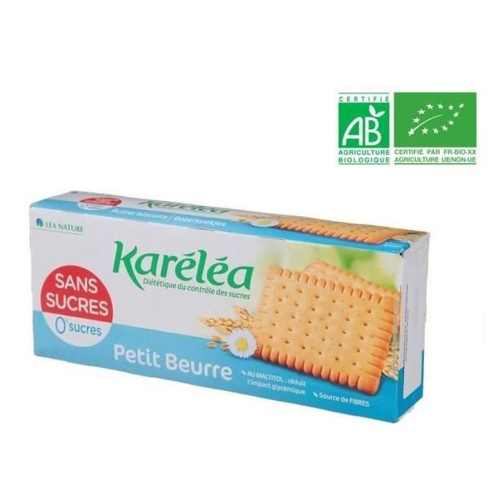 KARELEA Petit Beurre Sans Sucre Ajouté - 150 g