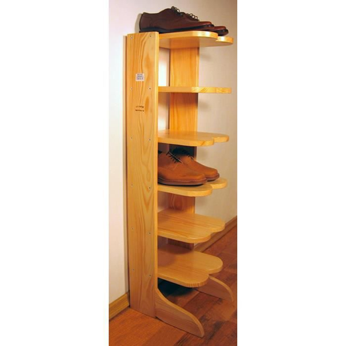 range chaussures tag 6 en bois massif naturel achat vente petit meuble rangement range. Black Bedroom Furniture Sets. Home Design Ideas