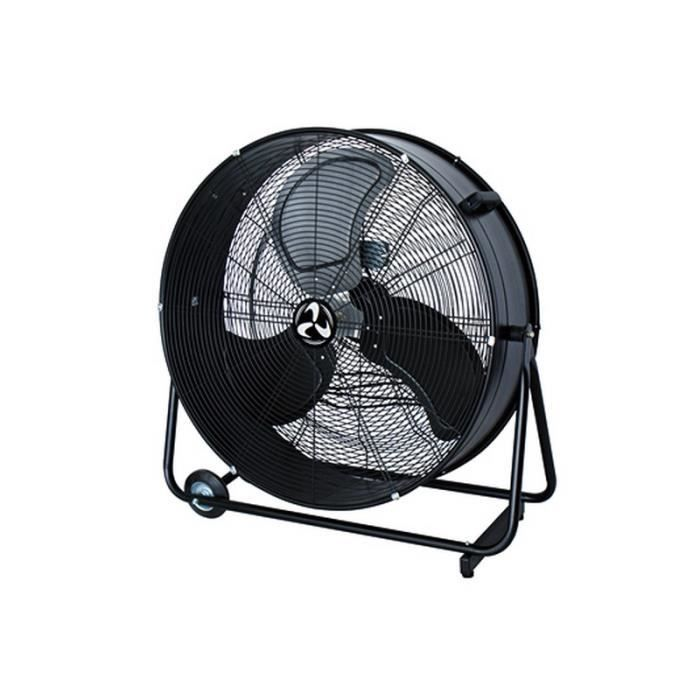 ventilateur brasseur d 39 air sur roues diam tre 87 cm laqu e noir la machine a vent achat. Black Bedroom Furniture Sets. Home Design Ideas
