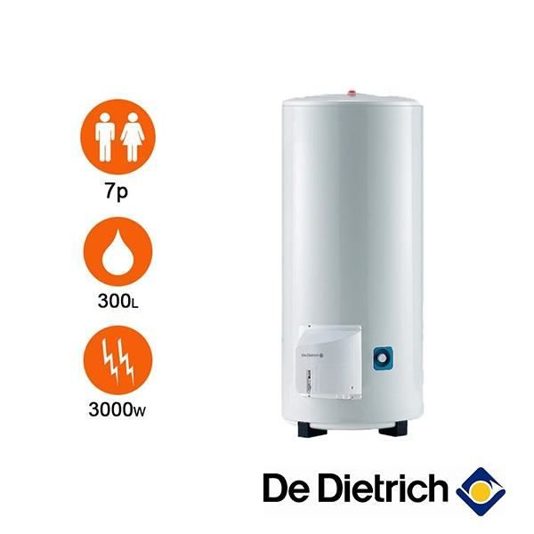 chauffe eau de dietrich cor email ths 300 litres stable. Black Bedroom Furniture Sets. Home Design Ideas