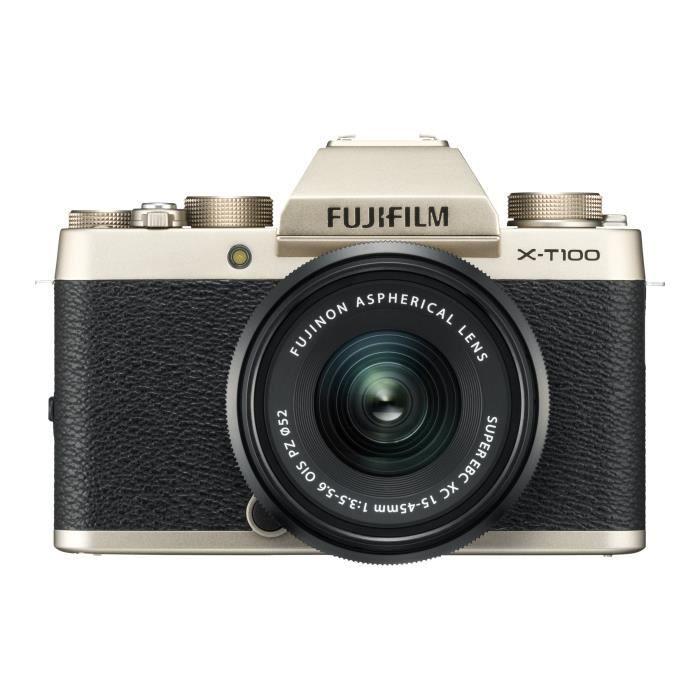 APPAREIL PHOTO HYBRIDE Fujifilm X Series X-T100 Appareil photo numérique