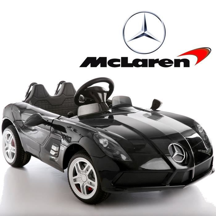 petite voiture lectrique enfant 12v gar on mercedes mac laren slr achat vente voiture. Black Bedroom Furniture Sets. Home Design Ideas
