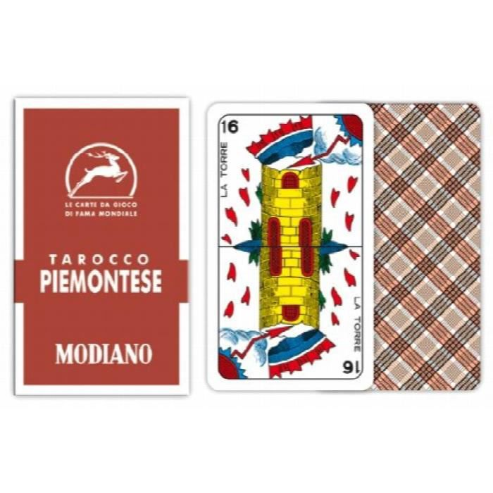 CARTES DE JEU Modiano Piemon Teser Tarot Cartes À Jouer 84 HDS1P