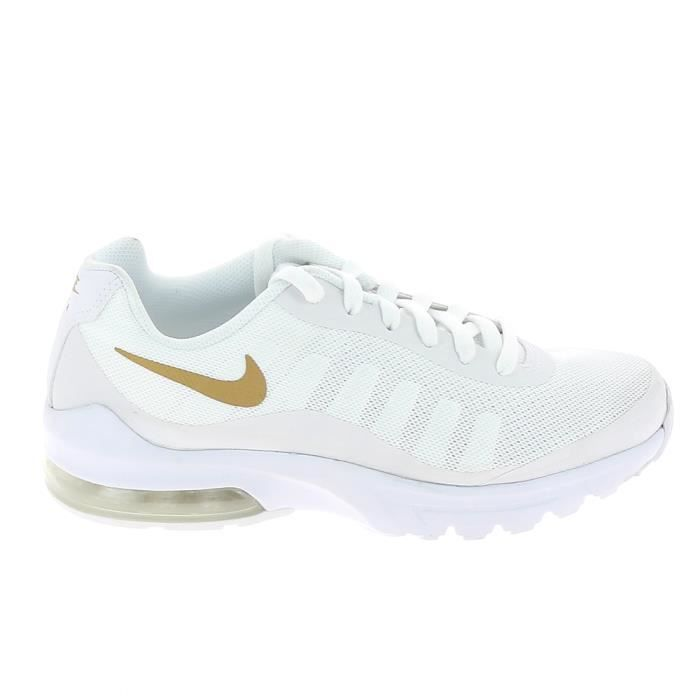 official photos 8866a a780d BASKET NIKE Air Max Invigor Jr Blanc 749572-100
