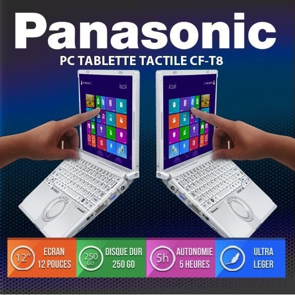 pc portable tactile panasonic cft8 pas cher achat. Black Bedroom Furniture Sets. Home Design Ideas