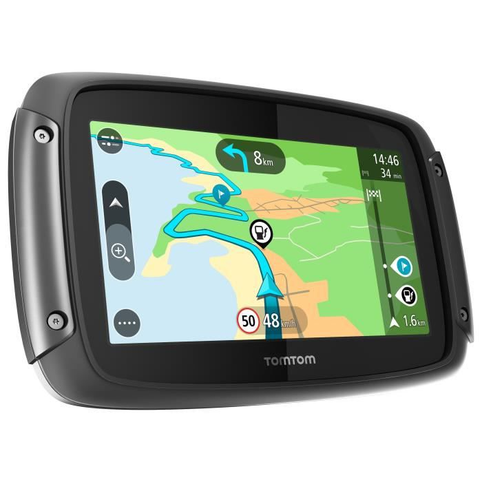 tomtom gps moto rider 42 4 3 pouces cartographie europe 23 et trafic vie achat vente. Black Bedroom Furniture Sets. Home Design Ideas