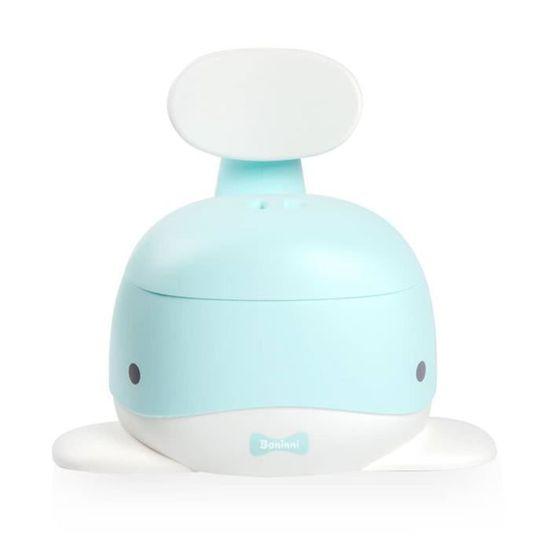 Baninni Pot de Toilette Whale Bleu Clair Pot pour Enfants Si/ège de Toilette