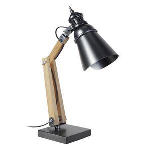 LAMPE A POSER IRON Lampe de bureau style industriel articulée 50