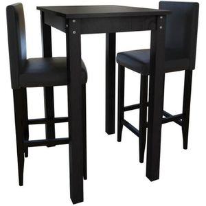 TABLE À MANGER COMPLÈTE Ensemble dîner table à manger et chaises complet 3