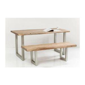 TABLE À MANGER SEULE Table Pure Nature 160x80 cm Kare Design