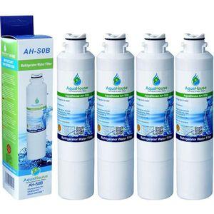 Samsung DA97-08006A-B eau Réfrigérateur Filtre Compatible Remplacement Pack de 4