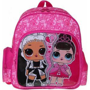 Lewro Enfants Sac à dos Timmy Pink Outdoor Sac à dos 8 L avec sangle de torse Butterfly