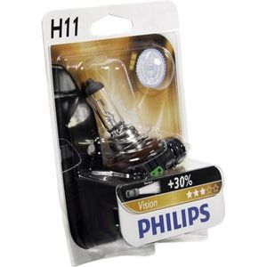 AMPOULE TABLEAU BORD PHILIPS Ampoule Vision 1 H11 12V 55W