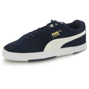 BASKET Puma Suede S bleu, baskets mode homme