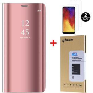 HOUSSE - ÉTUI 10pcs/lot Coque Huawei Y6 2019 + [2 Pack] Verre tr