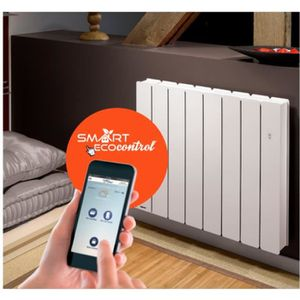 radiateur electrique inertie seche 1500w achat vente. Black Bedroom Furniture Sets. Home Design Ideas