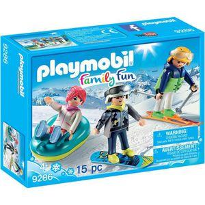 UNIVERS MINIATURE PLAYMOBIL 9286 - Family Fun - Vacanciers aux Sport