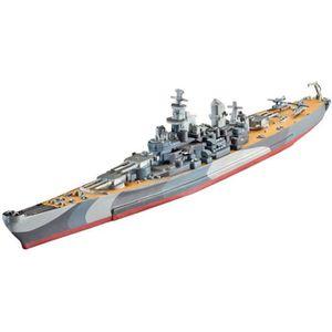 MAQUETTE DE BATEAU Maquette bateau : Model Set : Battleship U.S.S. Mi