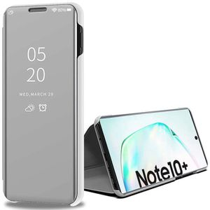 HOUSSE - ÉTUI Galaxy Note 10+ Plus Etui, Miroir Housse à Rabat