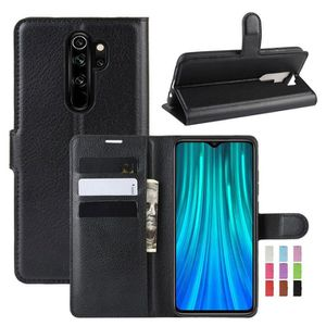 HOUSSE - ÉTUI Étui Xiaomi Redmi Note 8 Pro, Antichoc Folio en Cu