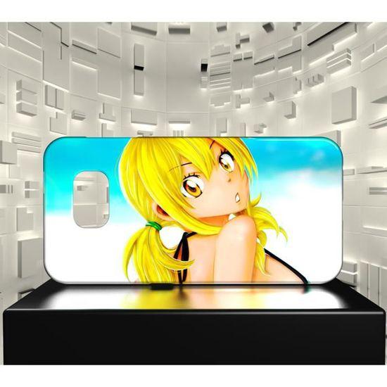 Coque Samsung Galaxy S7 EDGE MAF Fairy Tail Erza Natsu 29