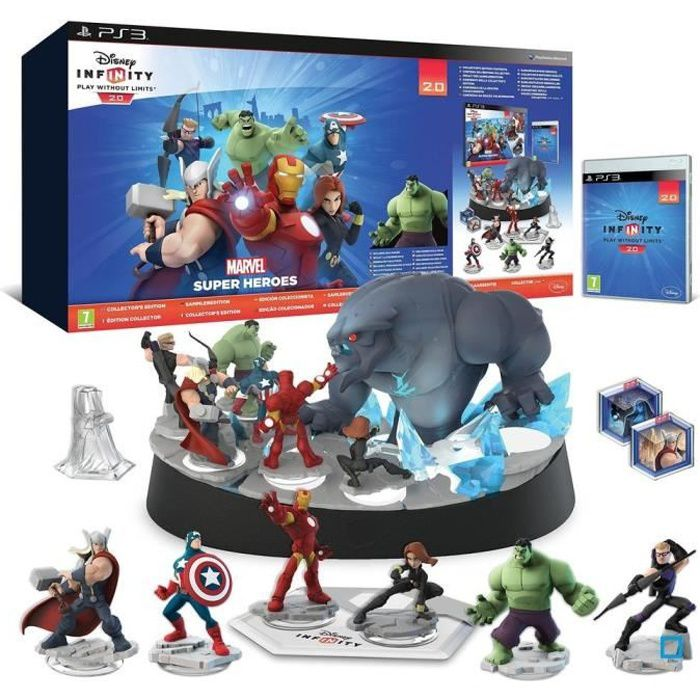 JEU PS3 Pack Collector Disney Infinity 2.0 : Marvel Super