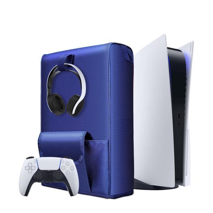 Étui de Protection pour le Stockage de la Console PS5 - Housse Anti-Poussière pour Console Hôte PS5 Ultra HD / Digital Edition