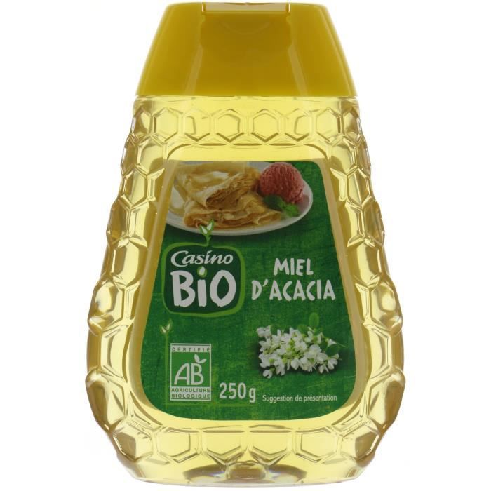 CASINO Miel Liquide Bio Acacia - 250G