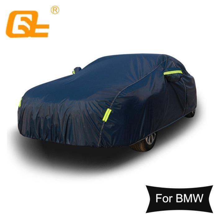 Couverture de protection solaire UV pour BMW 3 série 5 - Bâche de voiture complète universelle, b - Modèle: 7 Series - ANQCCZA02103