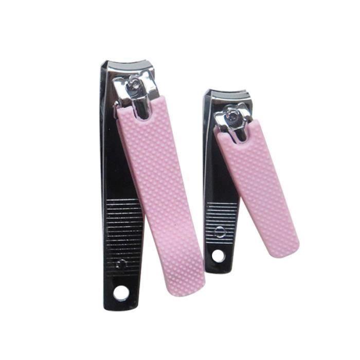 3 pièces coupe-ongles Portable en acier au carbone Durable pratique manucure ciseaux outils de pédicure GAZON ARTIFICIEL