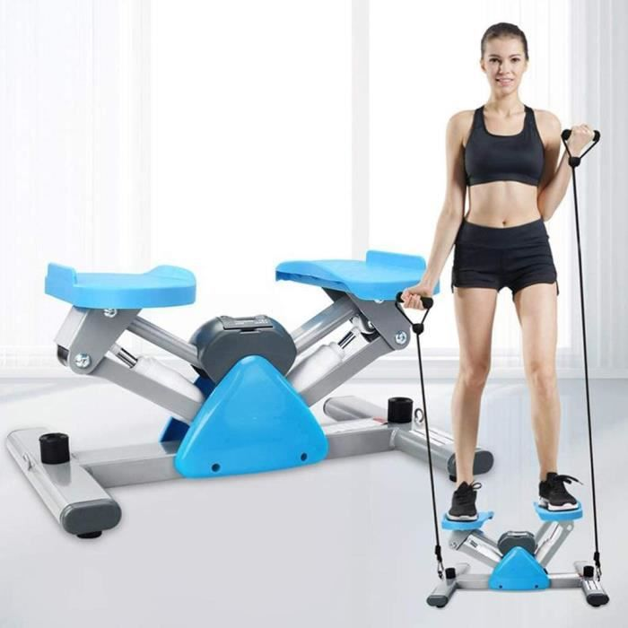 STEPPER Stepper Fitness Mini Stepper Twist Stepper Indoor Fitness Exercice Stepper Stepper Machine Jambes Stepping for la Maiso152