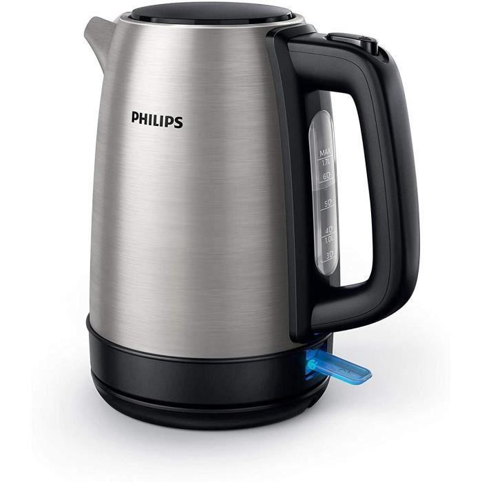 Philips HD9350 / 90 bouilloire (2200 watts, 1,7 litres, en acier inoxydable) [Classe énergétique A+++]